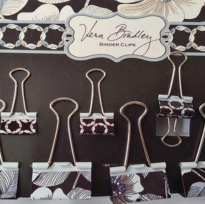 Vera Bradley binder clips